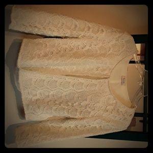 Lace jacket  size medium or ladies 10